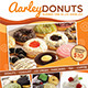 Donuts Menu Flyer - GraphicRiver Item for Sale