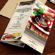 TriFold - A5 Table Tent Menu  - GraphicRiver Item for Sale