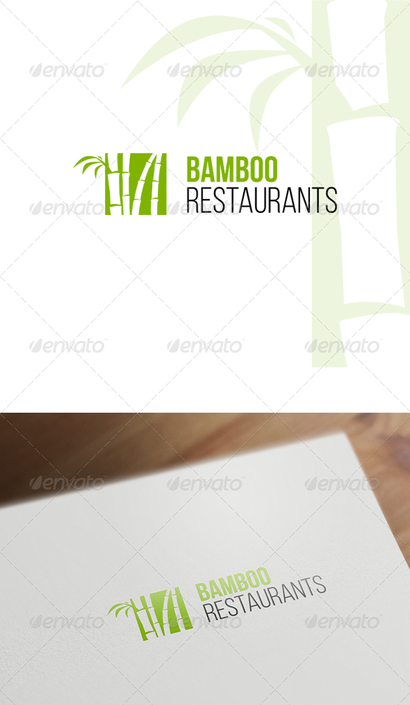 GraphicRiver Bamboo Logo Template 7823708