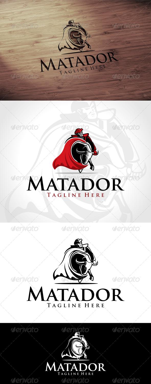 GraphicRiver Matador Logo Template 7823746