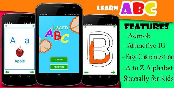 CodeCanyon Learn Alphabets