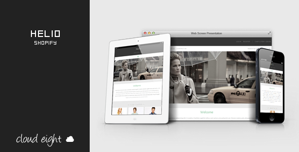 ThemeForest Helio Responsive Shopify Theme 7824402