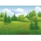 Summer Forest Landscape - GraphicRiver Item for Sale