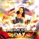 Memorial Day Independence Day Flyer - GraphicRiver Item for Sale