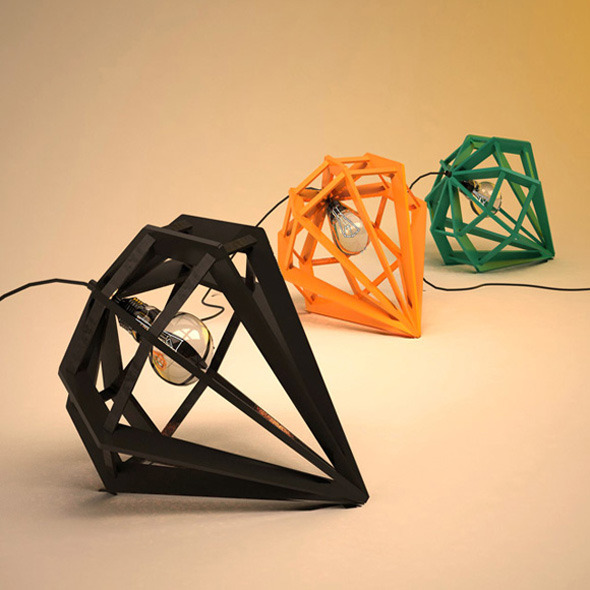 3DOcean Lamp with a metal frame 7825392