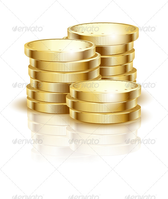 GraphicRiver Gold Coins 7825993