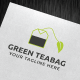 Green Teabag Logo Template - GraphicRiver Item for Sale