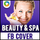 Beauty & Spa Facebook Cover Page - GraphicRiver Item for Sale