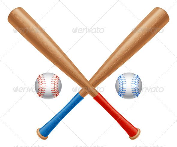 GraphicRiver Baseball Items 7827573