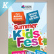 Kids Summer Camp Roll-up Banners - GraphicRiver Item for Sale