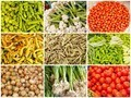 collection of images from vegetable farmers market - PhotoDune Item for Sale