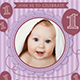 Baby Birthday Template - Vol. 1 - GraphicRiver Item for Sale
