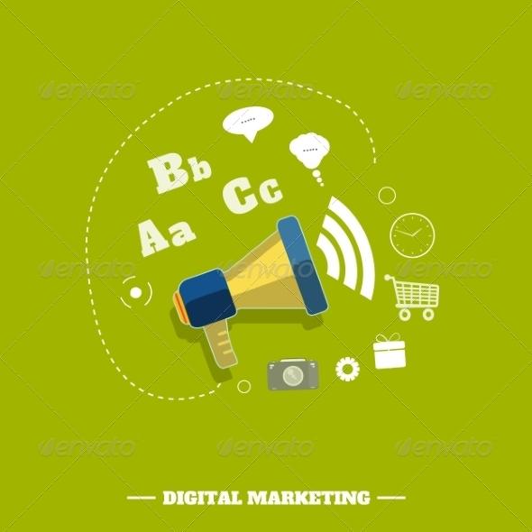 GraphicRiver Digital Marketing Concept 7830012
