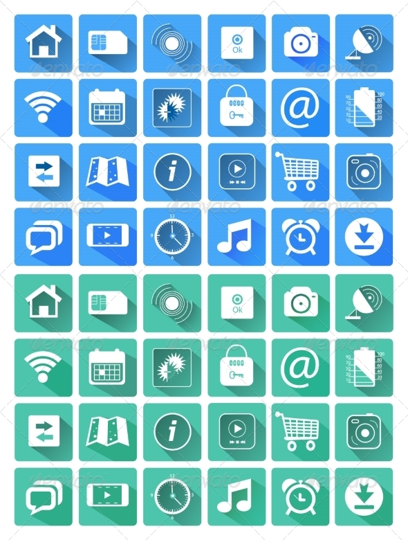 GraphicRiver Icons for Web and Mobile Applications 7830715