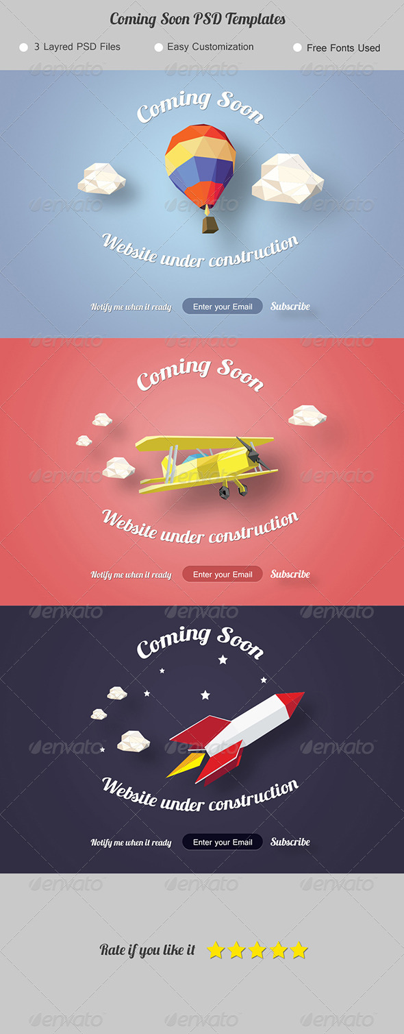 GraphicRiver Coming Soon Under Construction Page 7789812