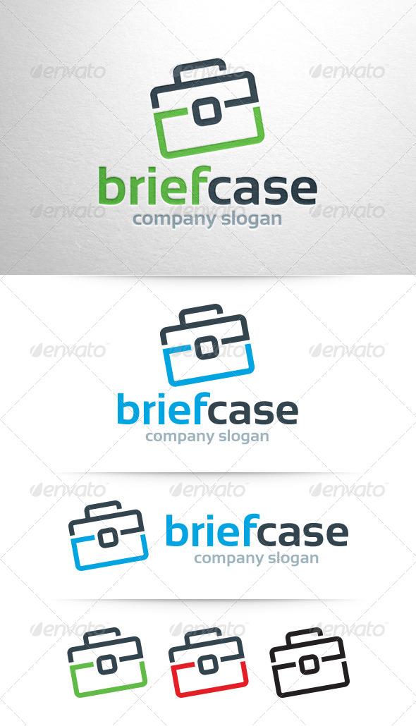 GraphicRiver Briefcase Logo Template 7832364