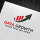 Data Growth Logo Template - GraphicRiver Item for Sale