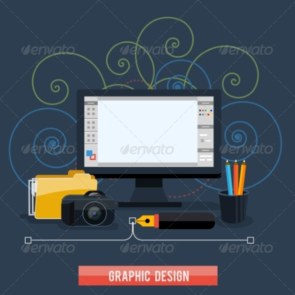 GraphicRiver Web Design Concept 7834398