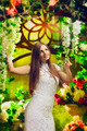 Beautiful Woman In Garden - PhotoDune Item for Sale