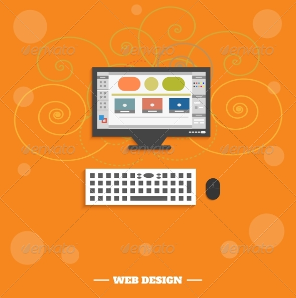 GraphicRiver Web Design Concept 7835540