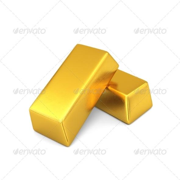 GraphicRiver Gold Bars 7836755