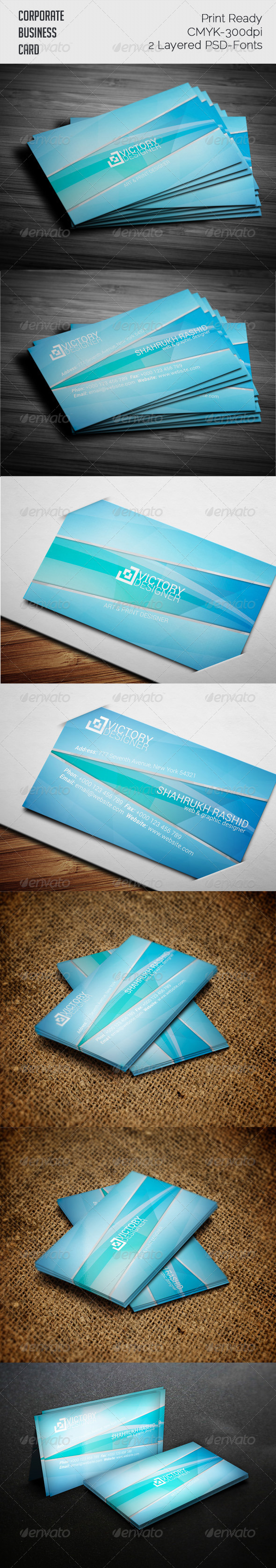 GraphicRiver Clean Business Card 7837495