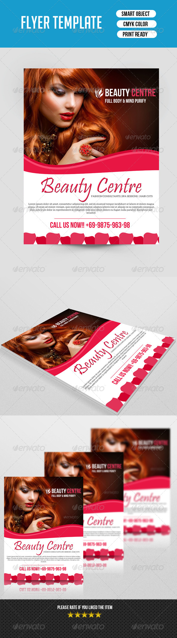 GraphicRiver Beauty Salon Flyer-V41 7837648