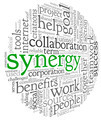 Synergy concept in word tag cloud - PhotoDune Item for Sale