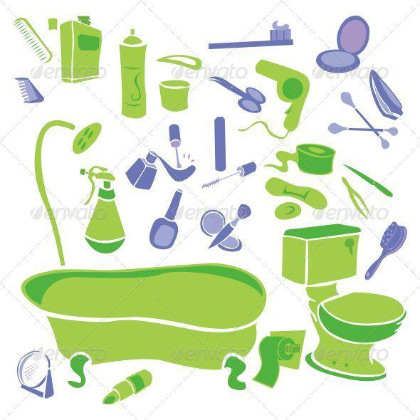GraphicRiver Bathroom Vector 7838562