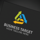 Business Target Logo - GraphicRiver Item for Sale