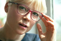 Blond Woman with Glasses - PhotoDune Item for Sale