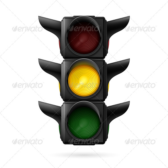 GraphicRiver Traffic Light 7839714