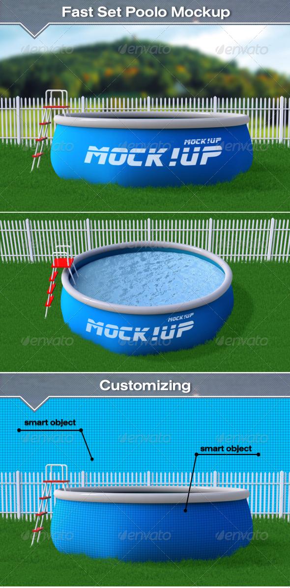 GraphicRiver Fast Set Pool Mockup 7839732