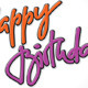 Happy Birthday Hand Lettering - GraphicRiver Item for Sale