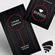 Black Stripes Business Card - GraphicRiver Item for Sale