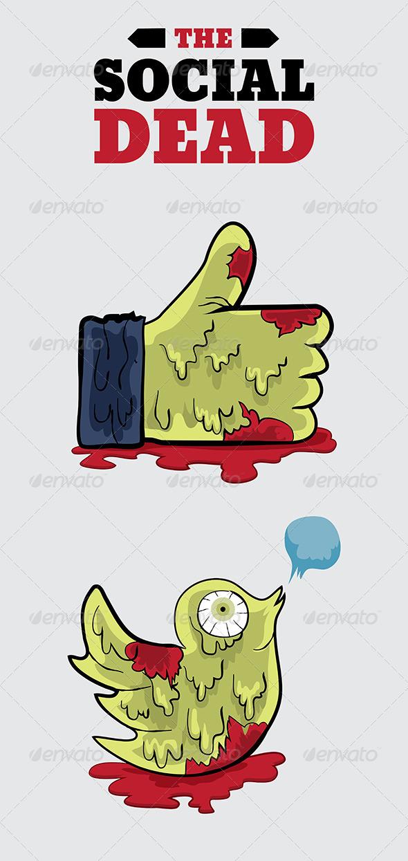 GraphicRiver The Social Dead 7829753