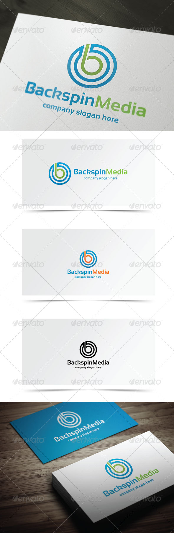 GraphicRiver Backspin Media 7841943