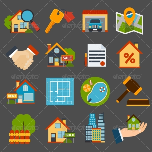 GraphicRiver Real Estate Set 7842901