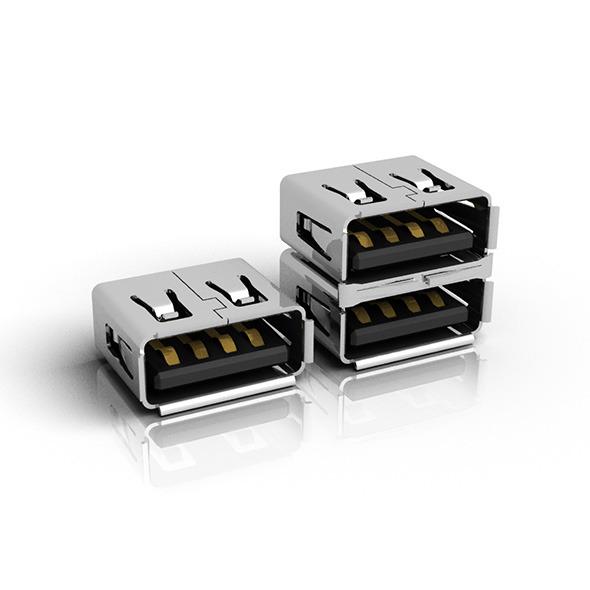 3DOcean USB Female Connector 7843073
