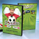 Soccer Match 2014 DVD Cover Template 02 - GraphicRiver Item for Sale