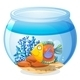 An aquarium with a fish - GraphicRiver Item for Sale