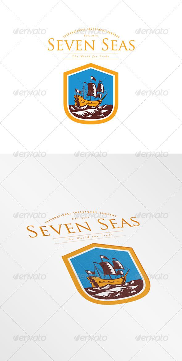 GraphicRiver Seven Seas Investment Company Logo 7844900