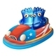 Blue Monsters in Bumper Car - GraphicRiver Item for Sale