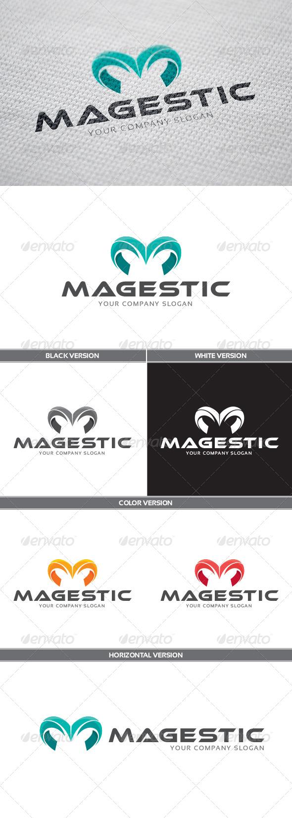 GraphicRiver Magestic Logo 7845252