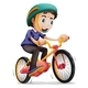 Boy Riding a Bicycle - GraphicRiver Item for Sale