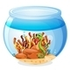 Aquarium with Seahorse - GraphicRiver Item for Sale