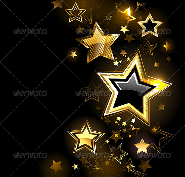 GraphicRiver Shiny Gold Star 7845521