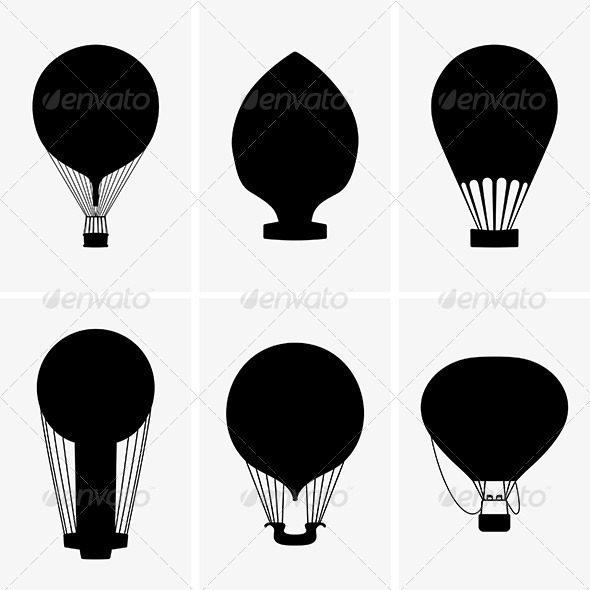 GraphicRiver Hot Air Balloons 7845826