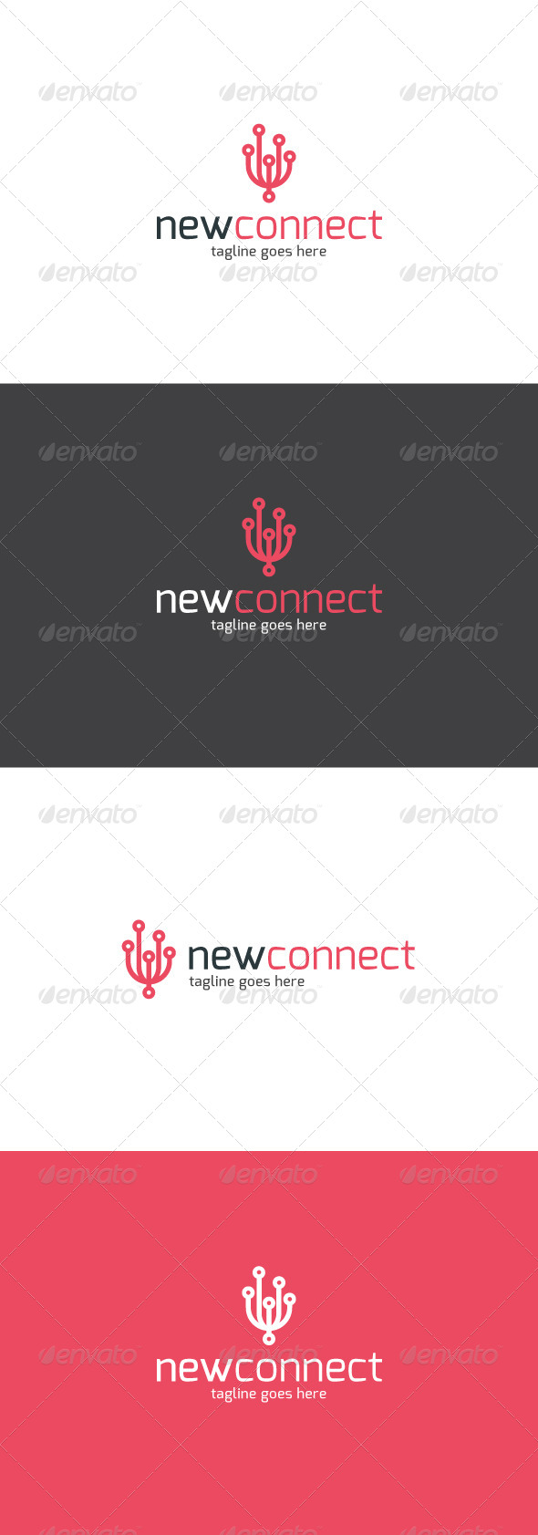 GraphicRiver New Connect Logo 7845828