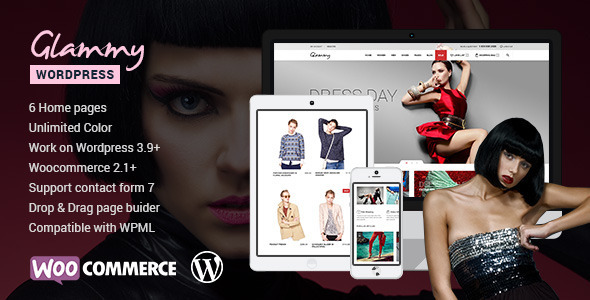 ThemeForest Glammy eCommerce Premium Theme 7800126